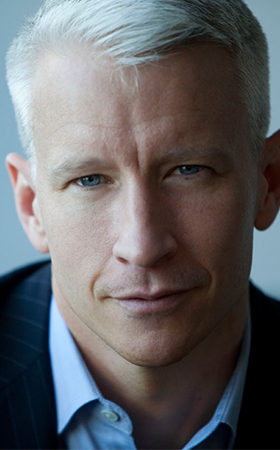 Anderson Cooper - photo courtesy CNN