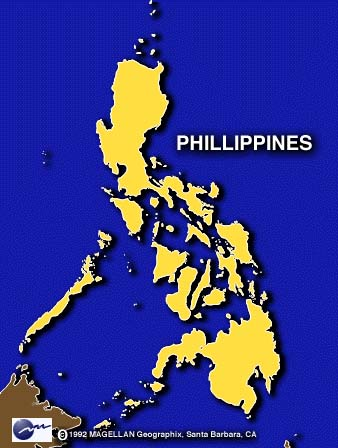 Philippines+map+world