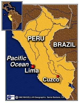 CNN Mudslide In Peru The Latest El Niño Disaster February - Where is peru
