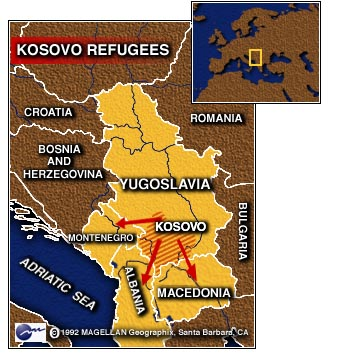 CNN - Kosovar refugees stream across border as early aid shipments Kosovo Map Of Borders on sweden border map, czech republic border map, latvia border map, europe border map, france border map, afghanistan border map, vatican city border map, hungary border map, mexico border map, gaza border map, russia border map, kazakhstan border map, monaco border map, vietnam border map, sudan border map, venezuela border map, hong kong border map, bulgaria border map, bermuda border map, greece border map,