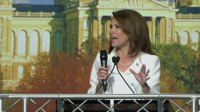 Michele Bachmann GOP frontrunner: Join the Live Chat